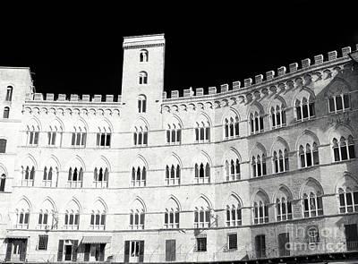 Photograph - Palazzo Sansedoni Siena by John Rizzuto