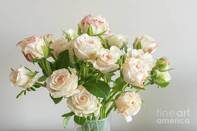 Photograph - Pale Pink Roses by Natalie Board