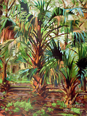Painting - Palm Hammock by Blair Updike