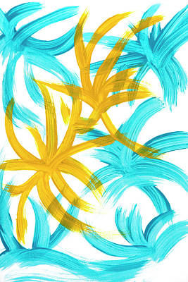 Painting - Palm Island Abstract by Christina Rollo