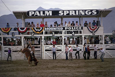 Traditional Clothing Photograph - Palm Springs Rodeo by Slim Aarons