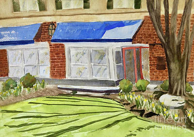 Painting - Palmer Square Princeton by Andrea Rubinstein