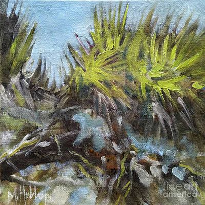 Painting - Palmetto Hill by Mary Hubley