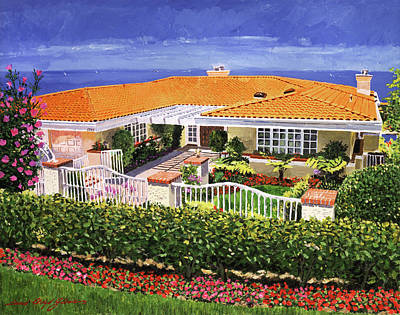 Painting - Palos Verdes View by David Lloyd Glover