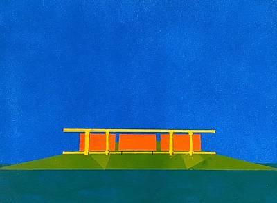 Painting - Pamm Natural Balance by Jose Herazo-osorio