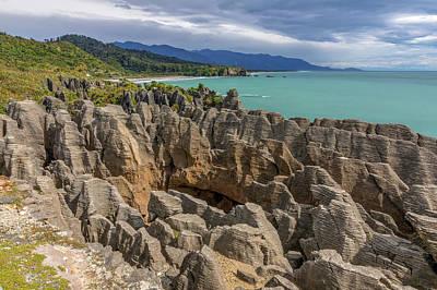 Photograph - Pancake Rocks - New Zealand by Joana Kruse