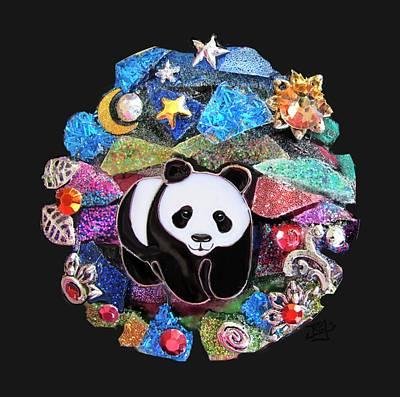 Photograph - Panda Bear 1 by Jean Batzell Fitzgerald