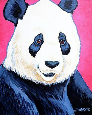 Painting - Pandamonium by Joshua Hendry