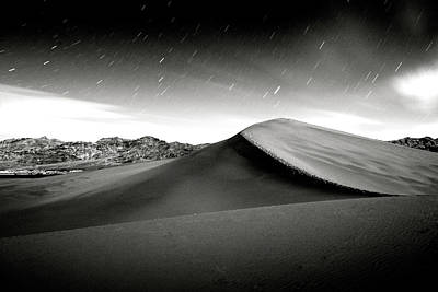 Photograph - Panimant Dunes Moonlight by Mason Cummings