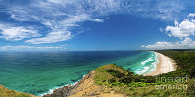 Photograph - Pano of Cape Byron by Jonathan Painter