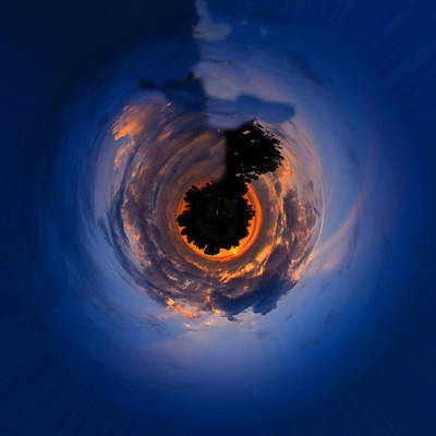 Photograph - Panorama Abstract 01 by Philip Rispin