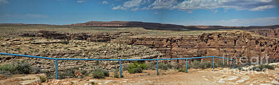 Photograph - Panorama Color Colorado River Gorge Arizona Southwest Usa by Chuck Kuhn