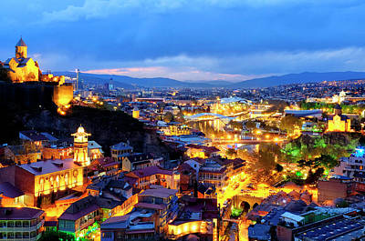 Photograph - Panorama Of Tbilisi by Fabrizio Troiani