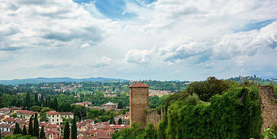 Photograph - Florence From The Garden Of The Knight by Fine Art Photography Prints By Eduardo Accorinti