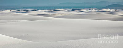Photograph - Panoramic White Sands by Doug Sturgess