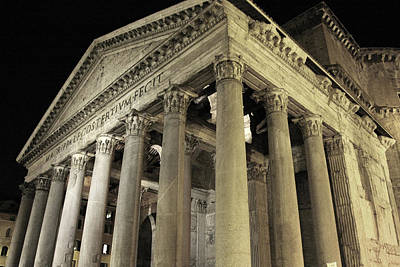 Photograph - Pantheon by Images Unlimited