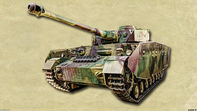 Photograph - Panzer Iv Canvas by Weston Westmoreland