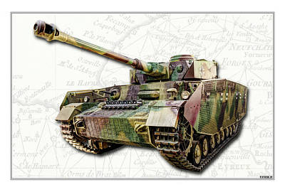 Photograph - Panzer Iv by Weston Westmoreland