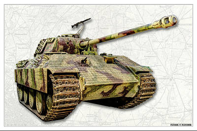 Photograph - Panzer V Panther by Weston Westmoreland