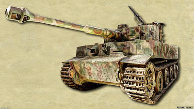 Photograph - Panzer Vi Tiger Canvas by Weston Westmoreland
