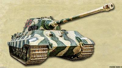 Photograph - Panzer Vi Tiger II Canvas by Weston Westmoreland