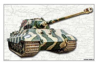 Photograph - Panzer Vi Tiger II by Weston Westmoreland