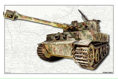 Photograph - Panzer Vi Tiger by Weston Westmoreland