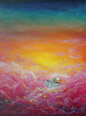 Painting - Paper Dreams by Sue Art studio