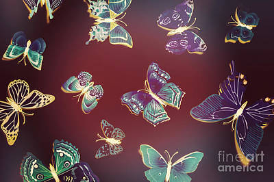 Photograph - Paper Wings. Dreamy Flights by Jorgo Photography - Wall Art Gallery