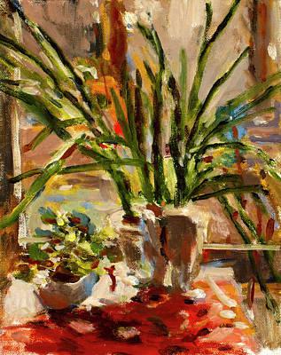 Painting - Paperwhites by Ann Heideman