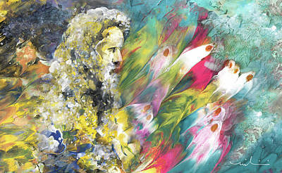 Painting - Parable Of The Ten Virgins 02 by Miki De Goodaboom