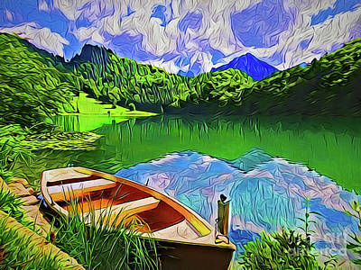 Painting - Paradise A18-15 by Ray Shrewsberry