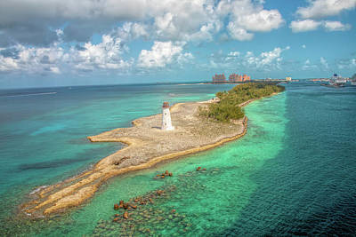 Photograph - Paradise Island Lighthouse by Kristia Adams