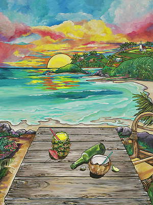 Painting - Paradise by Patti Schermerhorn
