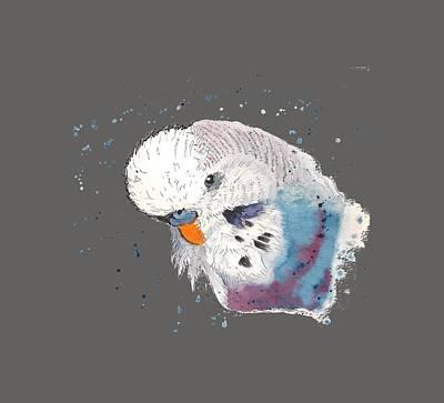 Typography Tees - Parakeet by Petra Stephens
