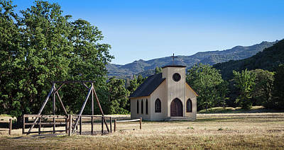 Photograph - Paramount Ranch Church 4.20.2017 by Gene Parks