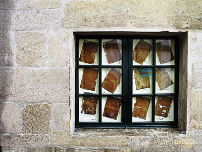 Photograph - Parchment Panes by Rick Locke