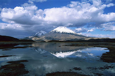 Photograph - Parincota, Elevation 6,232 Meters by Tui De Roy/ Minden Pictures