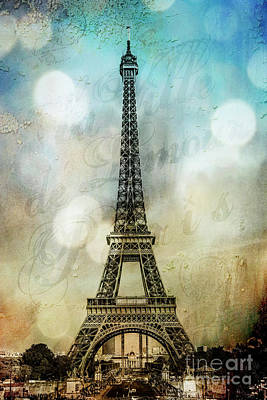 Photograph - Paris City Of Love by Stacey Granger