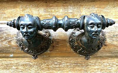 Photograph - Paris Door Handle by Charles Kraus
