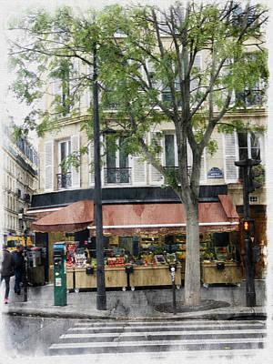 Just Desserts - Paris Grocer by Tom Reynen