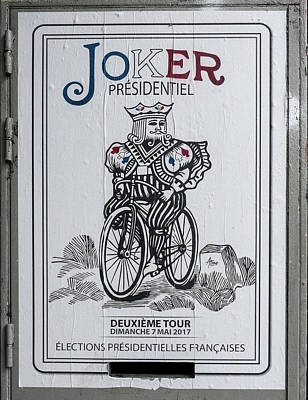 Photograph - Paris Joker by Gary Karlsen