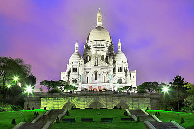 Photograph - Paris Montmartre by Seng Chye Teo