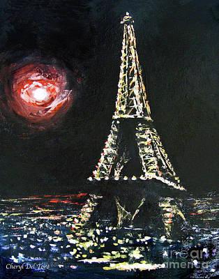 Photograph - Paris Night by Cheryl Del Toro