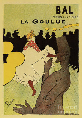Drawing - Paris Nightlife 1891 Toulouse Lautrec by Aapshop