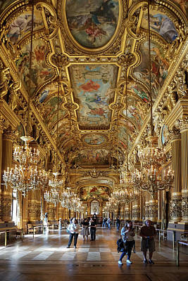 Photograph - Paris Opera by Jim Mathis