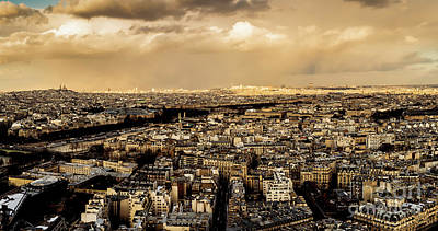Photograph - Paris Skyline 2 by Miles Whittingham