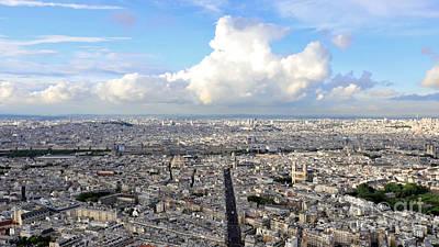 Photograph - Paris Time Lapse by Benny Marty