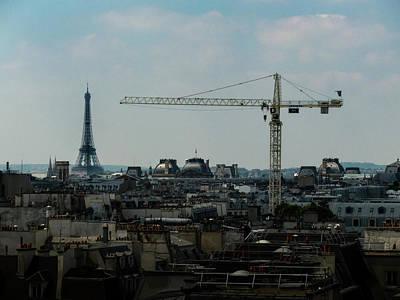 Photograph - Paris Towers by Juan Contreras