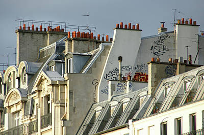 Wall Art - Photograph - Paris Up There by Brandy Herren